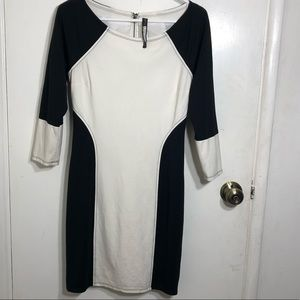 Plenty by Tracy Reese Color Blocked Dress